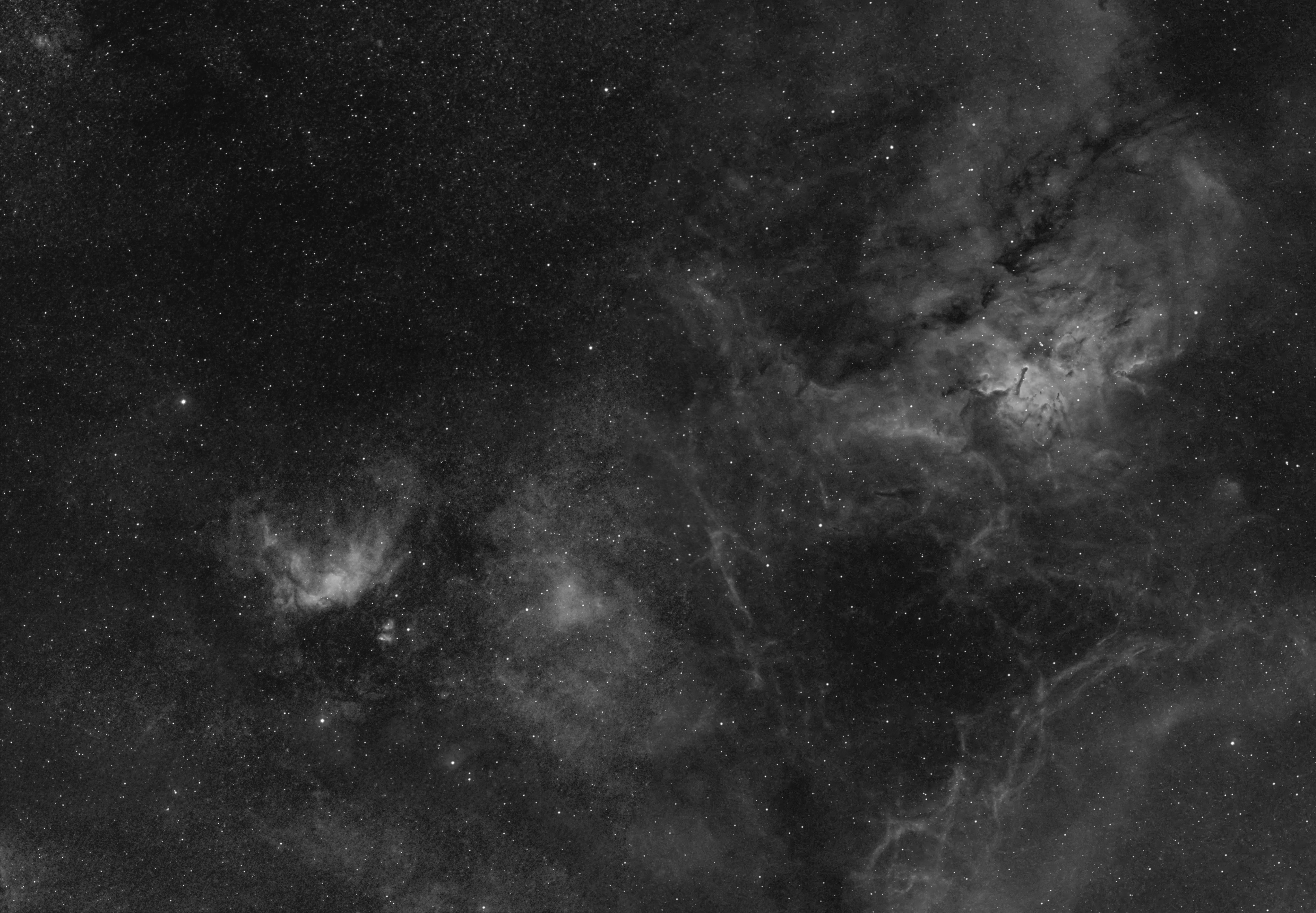 Skyscape of Vulpecula
